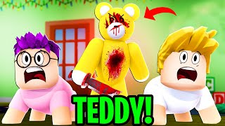 Can We Beat ROBLOX TEDDY In This SCARY DAYCARE!? (INSANE)