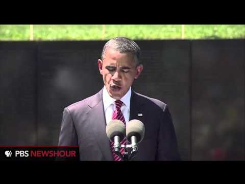 Watch President Obama's Speech at the Vietnam War Memorial