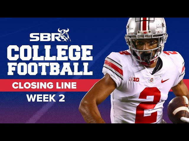 College Football Picks 🏈 | Week 2 Closing Lines and Predictions for Saturday's Games
