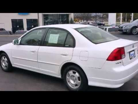 Pre Owned 2004 Honda Civic Hybrid Milwaukee Wi
