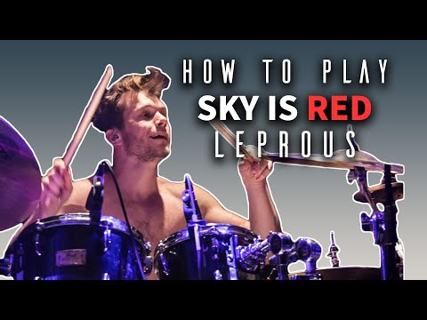 How To Play The Sky Is Red By Leprous [1] Baard Kolstad | Drum Tutorial