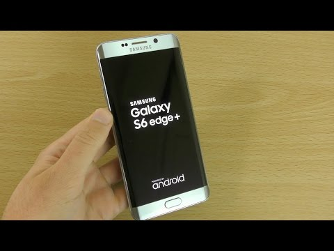 Samsung Galaxy S6 Edge Plus Silver - Unboxing ! (4K)