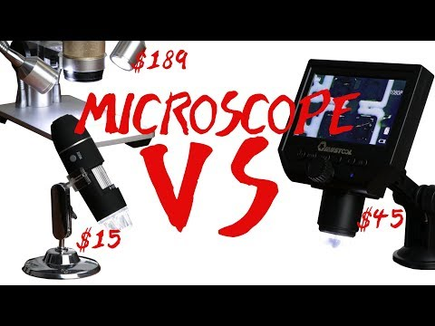 Microscopes for SMD Soldering || $15 VS $45 VS $189