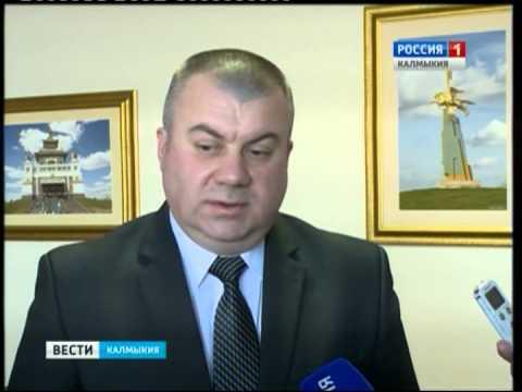 Главе Калмыкии представлен новый руководитель Пограничного Управления ФСБ Станислав Маслов