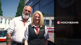 Busfahrer/-in bei der HOCHBAHN in Hamburg