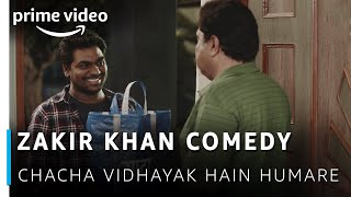 Zakir Khan Comedy - Aata aur Train Ticket | Chacha Vidhayak Hain Humare | Amazon Prime Video