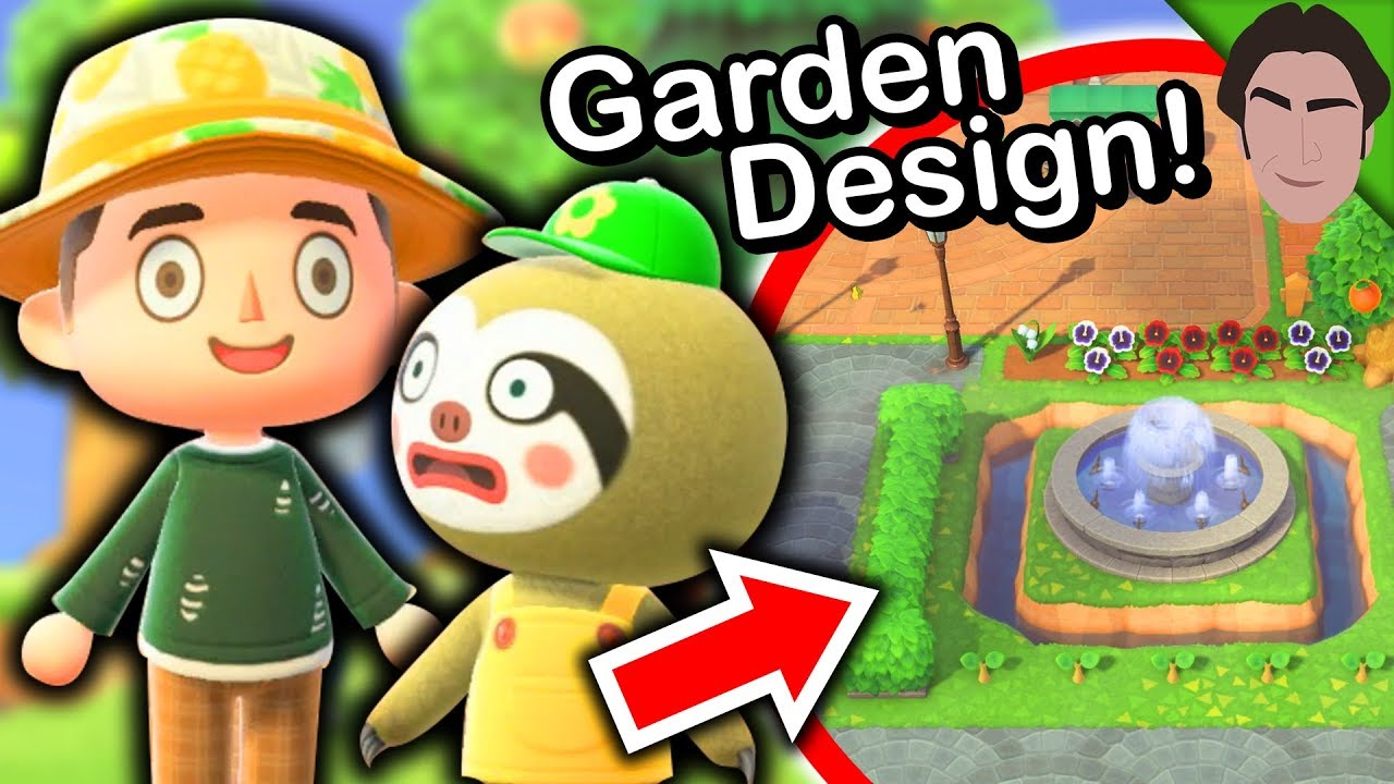 Garden Design Tips With Leif's New Shop! Animal Crossing