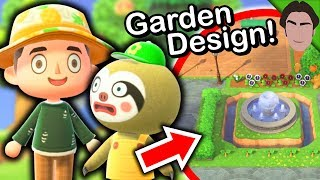Garden Design Tips With Leif S New Shop Animal Crossing New Horizons Gameplay Youtube
