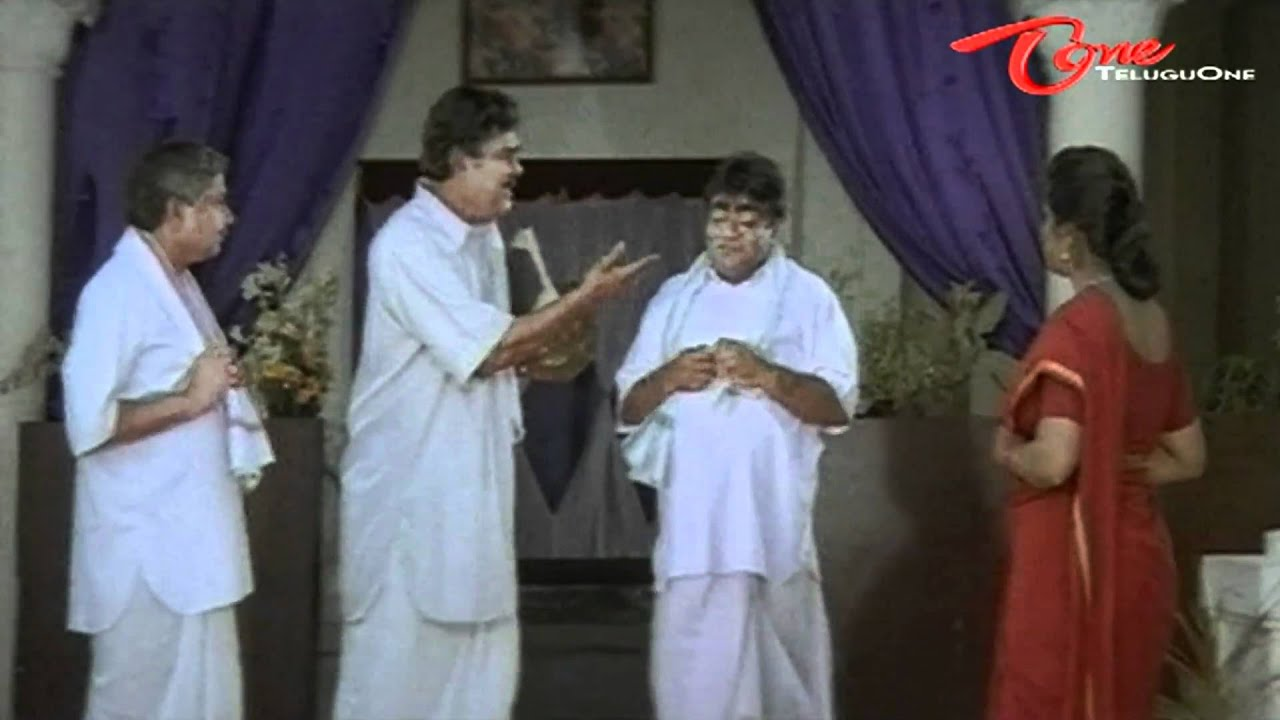 Babu Mohan Cat Walking Comedy With Kota Srinivasa Rao