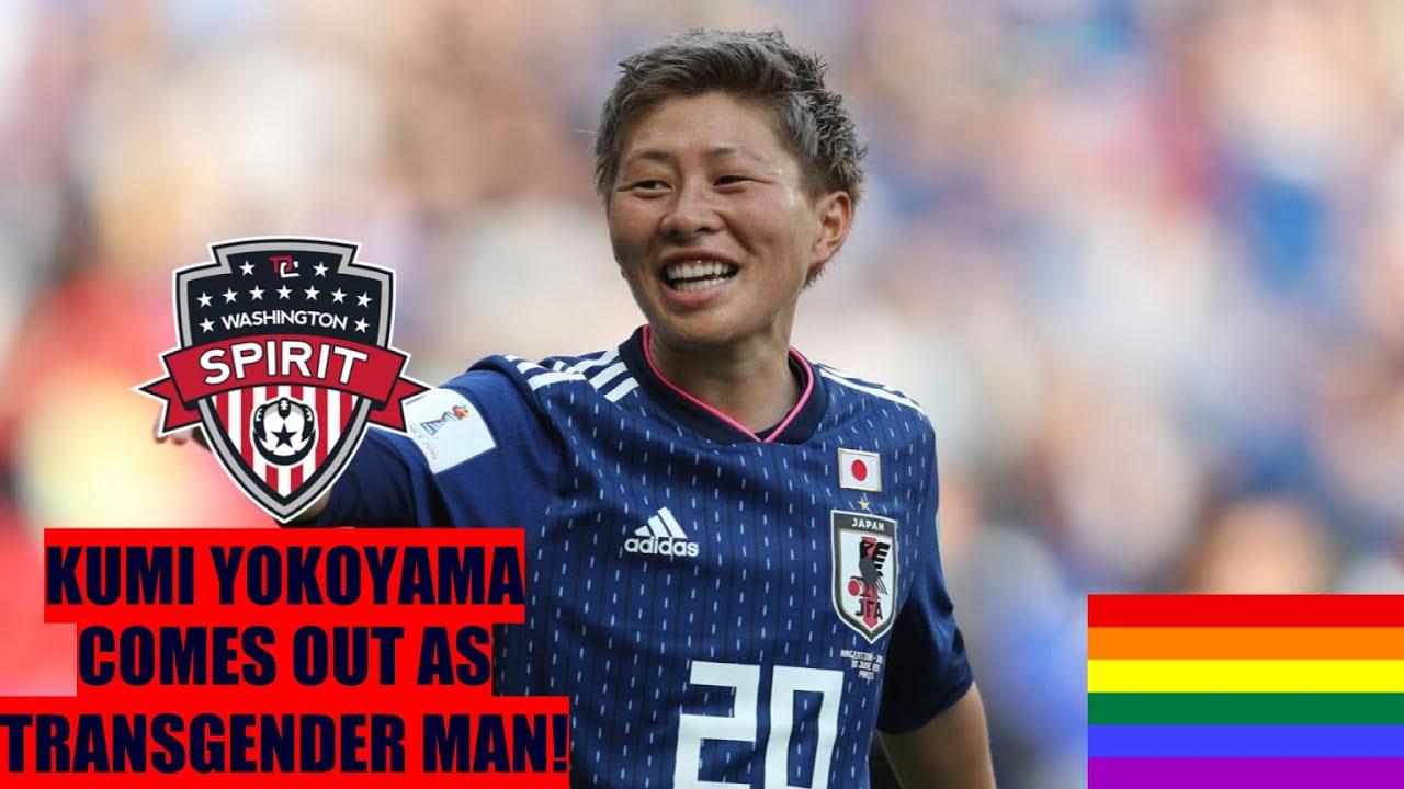 Washington Spirit's Kumi Yokoyama comes out as transgender man ...
