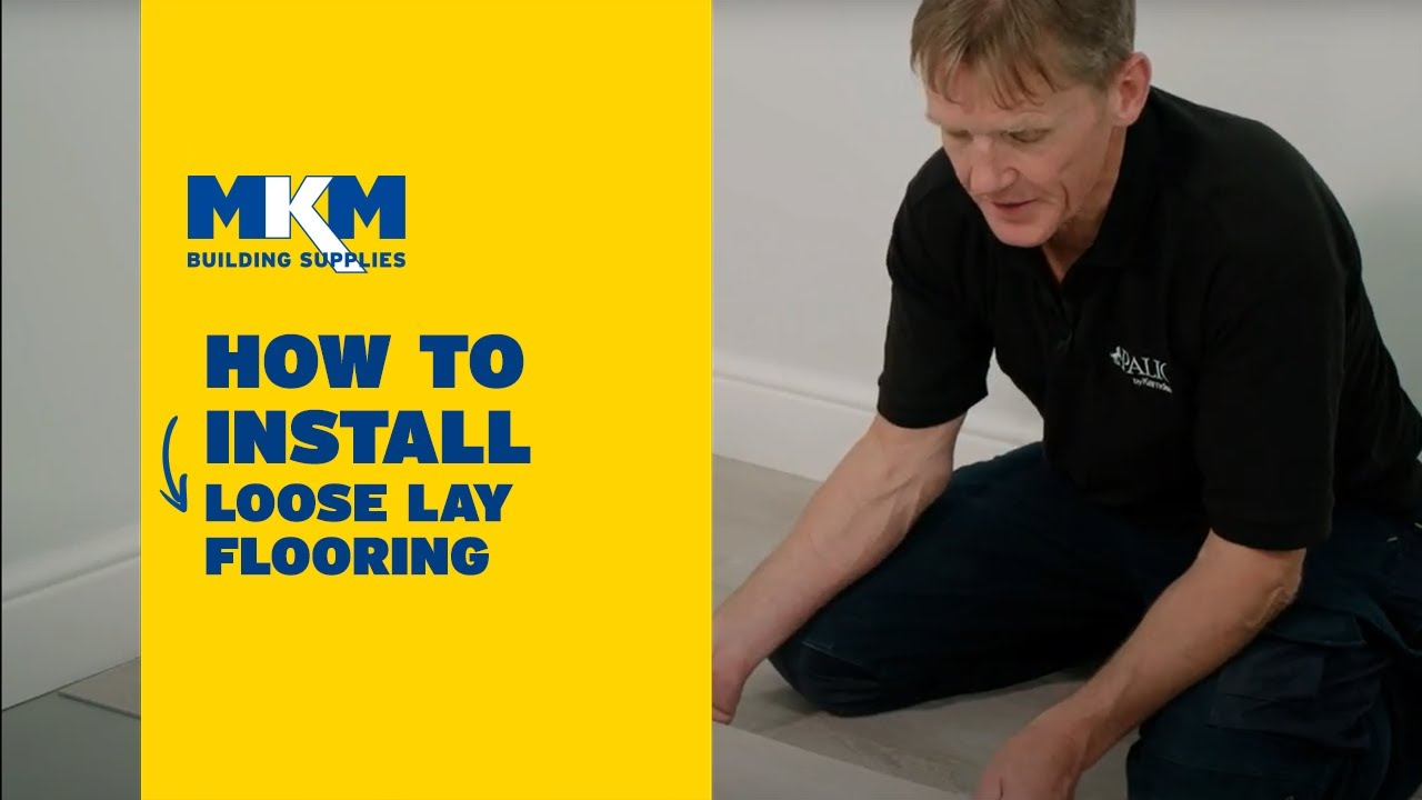 How To Install Karndean Palio Looselay Flooring With Roger Bisby