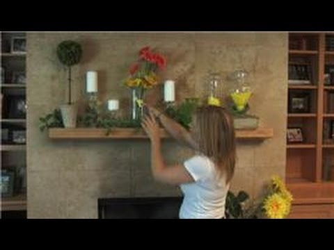 Home Decorating How To Decorate A Fireplace Mantle For