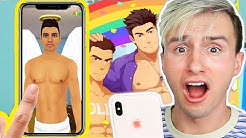 PLAYING APPS THAT ARE SUPER GAY