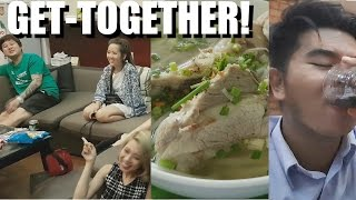 VIETNAM IS HOME? daily life vlog: Delicious Foods - Party at OldBoy's House. LOOSE LIFE #9