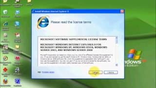 How to Install Internet Explorer 8 - Windows XP