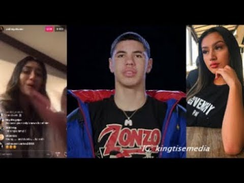 """Ashley Alvano Says """"All You Girls Can Have LaMelo Ball, I'm Done"""" On Instagram Live After Breakup"""