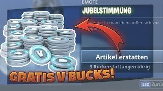 How to get V Bucks through refunds! | 3.6 Update | Fortnite Battle Royale