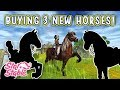 Let's Play Star Stable #180 - BUYING 3 NEW HORSES!