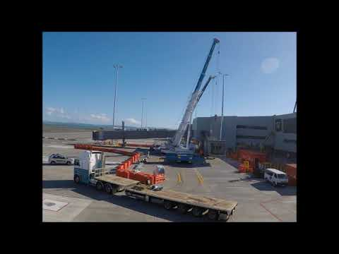 Another Passenger Boarding Bridge Installation By AIRPORT EQUIPMENT