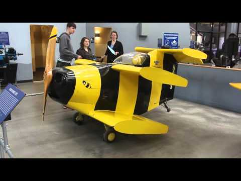 Smallest airplane ever flown