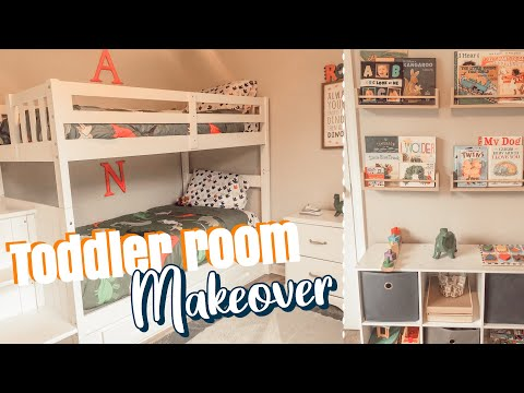 TODDLER ROOM MAKEOVER 2020 | BEFORE & AFTER TRANSFORMATION | SMALL KIDS ROOM DECOR IDEAS