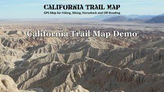 California Trail Map Demo