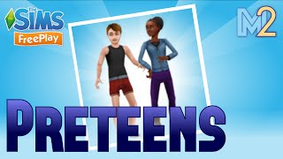 Sims FreePlay - Preteen Quest with Hermione & Rose Granger (Let's Play Ep 13)