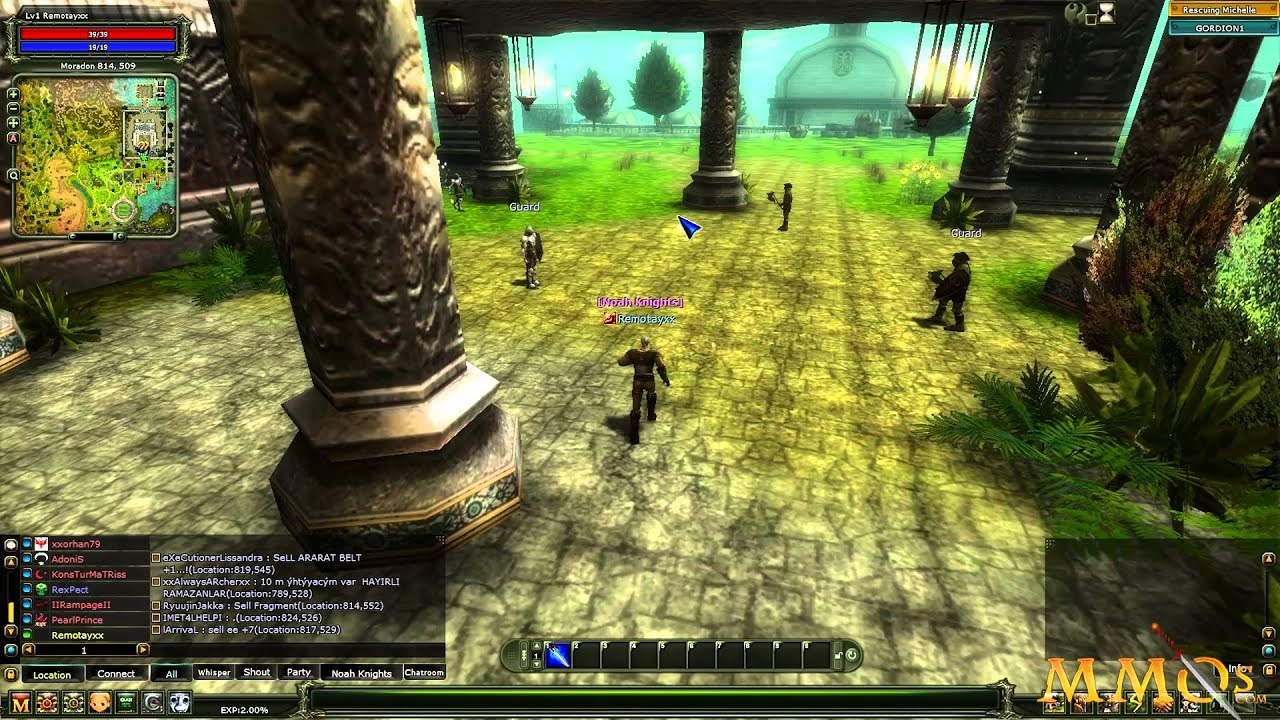 Knight Online Gameplay First Look Hd Mmos Youtube