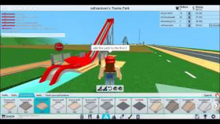 How To Make The Nautic Jet And Log Flume - Theme park tycoon 2- Roblox