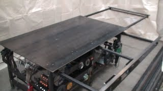 Building a welding table