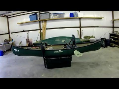 Fishing canoe setup  Why I bought a canoe over a kayak