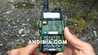 Tutorial básico - Handy - Walkie-talkie HF (VHF/UHF) Radio libre frecuencia