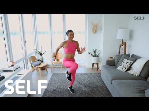 A Total-Body At-Home Workout For Weight Loss | SELF