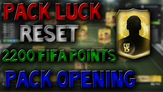 Fifa 15 - Pack Opening - 2200 Point Reset? Thumbnail