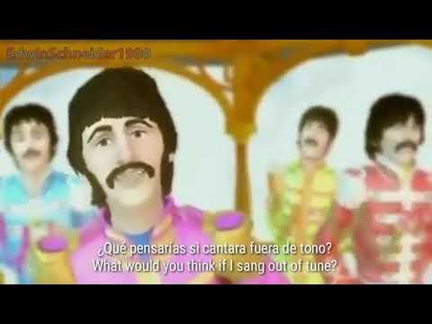 The Beatles - With A Little Help From My Friends (Subtitulada al Español e Inglés) | 2018 mp3