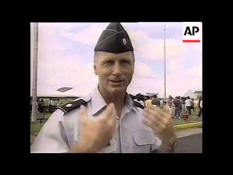 PANAMA: US HANDOVER LAST MILITARY BASE