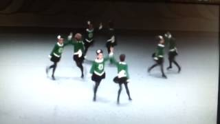 McDade-Cara U11 8-Hand (Ceili) Team B Recall at Irish Dancing World Championships