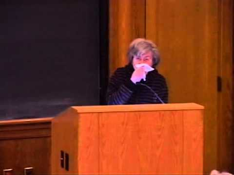 "Professor Ruth Wisse – ""Why Antisemitism Succeeds"""