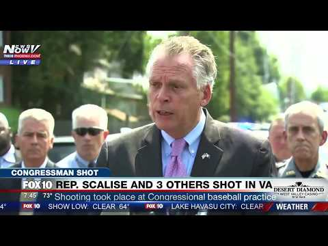 """TOO MANY GUNS"": Virginia Gov. Terry McAuliffe Brings Up GUN CONTROL Moments After Scalise Shot -FNN"