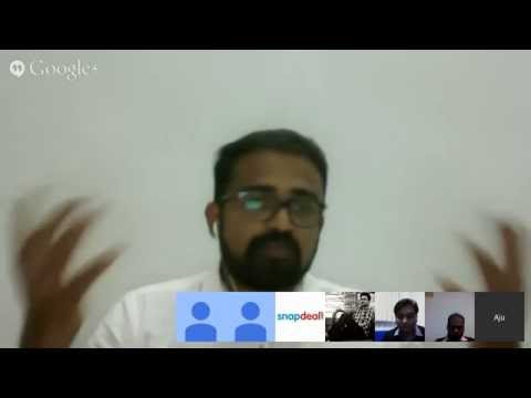 Google Hangout Session on Copyrights Law by Mr.Aju John