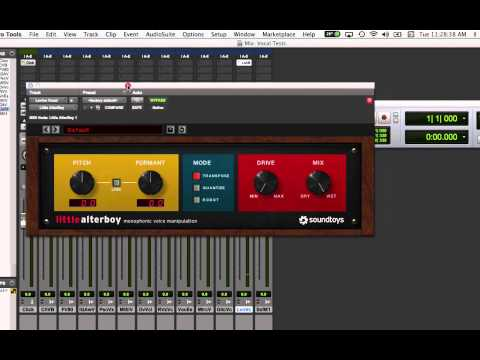 Little AlterBoy MIDI Pitch Control in Pro Tools 11