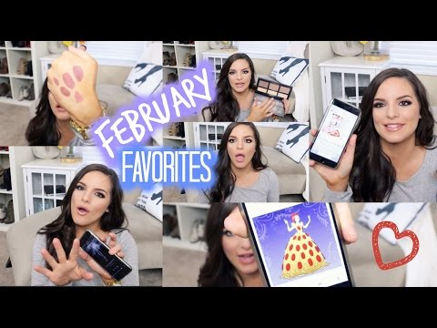 FEBRUARY FAVORITES! | Casey Holmes
