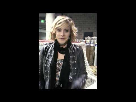 Gwen Sebastian Sings National Anthem.