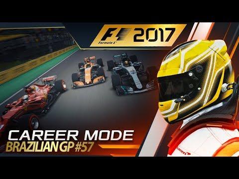 F1 2017 Career Mode Part 57: RIVALS CLASH