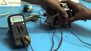 Learning to test the connections of a Mixer Motor and its Assembly (Hindi) (हिन्दी)