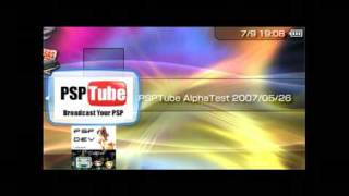 how to put youtube on your psp