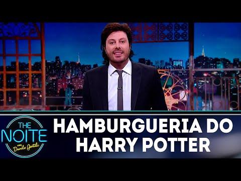 Monólogo: A hamburgueria do Harry Potter | The Noite (30/07/18)