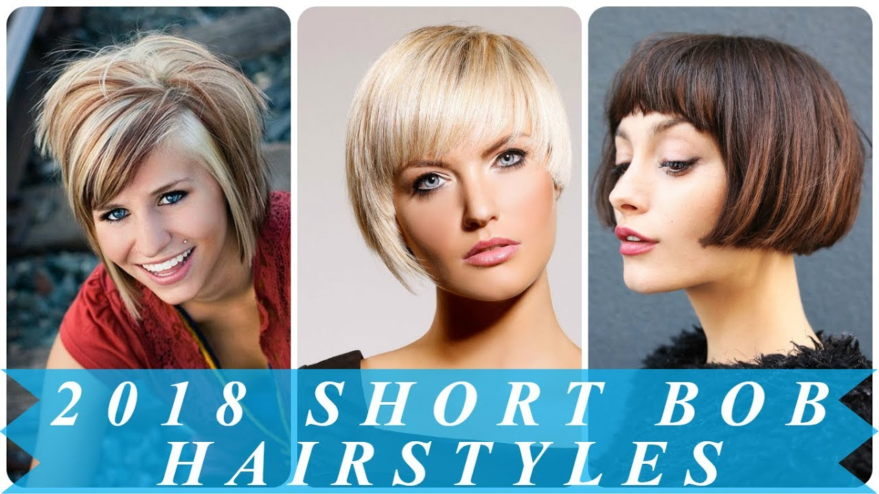 Short Bob Hairstyles And Haircuts For Women 2018