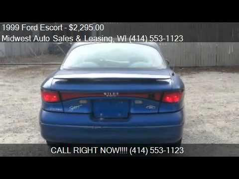 1999 Ford Escort ZX2 Cool 2dr Coupe for sale in Milwaukee, W