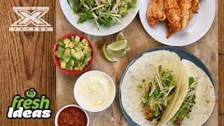 Mexican Taco Recipe with Crunchy Salad - with Luke Jacobz from The X Factor  Woolworths